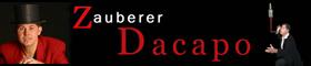 Zauberer Dacapo: magische Unterhaltung für Hochzeiten rund um den Bodensee, im Aargau, in Zürich, im Thurgau und St. Gallen mit dem Hochzeitszauberer